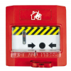 INIM IMT-EC0010 Visszaállítható címezhető kézi jelzésadó piros