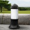 Fumagalli SAURO 500 kültéri állólámpa E27 fekete - opál (Állólámpa)