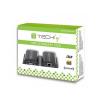 Techly HDMI extender, Cat.5e/6/6a.7 kábel, 60m-ig, IR vevőegységgel