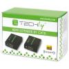 Techly HDMI extender, Cat.6/6a.7 kábel, 60m-ig, Full HD 3D