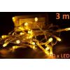 Karácsonyi LED világítás Garth 3 m - meleg fehér, 20 dióda
