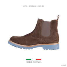 Made In Italia készült Italia férfi boka csizma cipő vezetékPPO_TDM