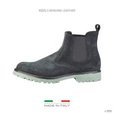 Made In Italia készült Italia férfi boka csizma cipő vezetékPPO_BLU