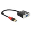 DELOCK Adapter USB 3.0 A-típusú csatlakozódugóval > VGA csatlakozóhüvellyel