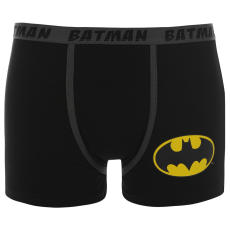 DC Comics Batman Single férfi boxeralsó fekete L