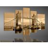 Byhome Digital Art vászonkép   2020 Old Bridge