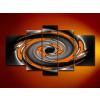 Byhome Digital Art vászonkép | 1275 Brown Fusion