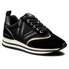 Calvin Klein Black Label Sportcipő CALVIN KLEIN BLACK LABEL - Timberly R3339 Black/Pewter