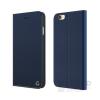 Occa Jacket Apple iPhone 6/6s oldalra nyíló bőr tok, kék