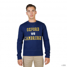 Oxford University férfi Pulóver OXFORD-garbó-CREWNECK-NAVY