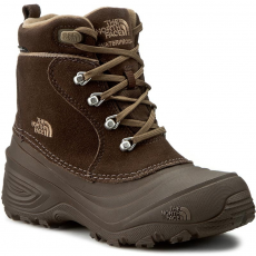 The North Face Hótaposó THE NORTH FACE - Youth Chilkat Lace II T92T5RRE2 Demitasse Brown/Cub Brown