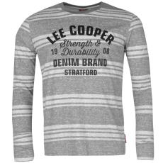 Lee Cooper Póló Lee Cooper Textured Stripe fér.