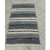 Nyers szürke rongyszőnyeg 55x160cm/Cikksz:0510594