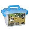 Kültéri vezérlős LED Fényfüzér 176 db / 9 m MELEG FEHÉR LED-del