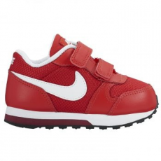 Nike MD Runner 2 gyerek sportcipő, University Red/White, 25 (806255-602-8c)