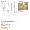 Forest Szekrény Felső panelfüggesztő 814 64 Z1 rugó nélkül