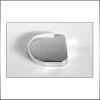 Forest Bútorpánt 245.0621.26 üvegajtópánt takaró mini Króm