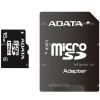 ADATA 16GB microSDHC ADATA CL4 + adapter (AUSDH16GCL4-RA1)