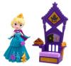 Disney hercegnők: Jégvarázs Elsa és a Trón játékszett akciófigura