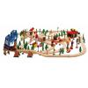Woody Fa vonat szett - WOODY 90578