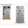 BCN Caseland Apple iPhone 6/6S szilikon hátlap - BCN Caseland Eyes - transparent