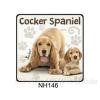 Cocker Spaniel kutyás hűtőmágnes