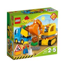 Mattel Duplo Teherautó és lánctalpas 10812 lego