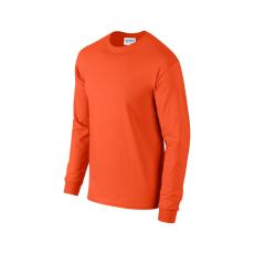 GILDAN hosszú ujjú környakas póló, narancs