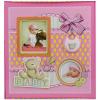 Baby fotóalbum - rózsaszín, macis