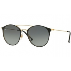 Ray-Ban RB3546 187/71 GOLD TOP BLACK GREY GRADIENT napszemüveg