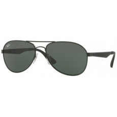 Ray-Ban RB3549 006/71 MATTE BLACK GREEN napszemüveg