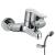 Tres BM-Tres egykaros kádtöltő csaptelep zuhanyszettel 01717002 Tres
