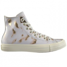 Converse Chuck Taylor All Star Hi Leather női tornacipő, Buff/Light Gold, 38 (553300C-107-7.5)