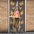 delight Szúnyogháló függöny ajtóra mágneses 100x210cm pillangós (Szúnyogháló)