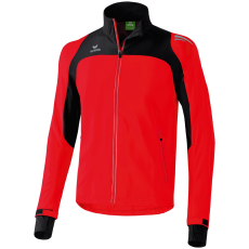 Erima Race Line Running Jacket piros/fekete zippes felső