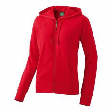 Erima Hooded Jacket piros zippes felső
