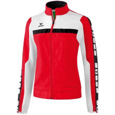 Erima 5-CUBES Presentation Jacket piros/fehér/fekete melegítő felső