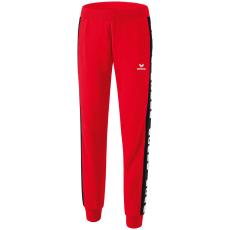 Erima 5-CUBES Sweatpants piros/fekete hosszúnadrág