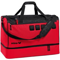 Erima Sports bag with bottom compartment piros/fekete táska