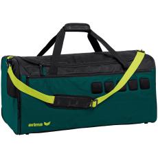 Erima Sports bag sötét zöld/fekete táska