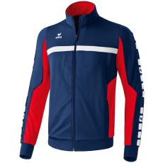 Erima 5-CUBES Polyester Jacket sötétkék/piros melegítő felső