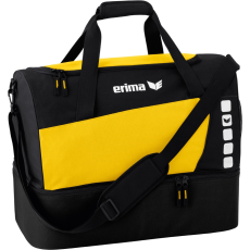 Erima Sports Bag with Bottom Compartment sárga/fekete táska