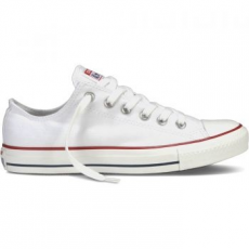 Converse Chuck Taylor AS Core OX Unisex tornacipő, Optical White, 45 (M7652C-0091-11)