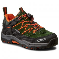 CMP Bakancs CMP - Kids Rigel Mid Treking Shoe Wp 3Q13244 Leaf F953