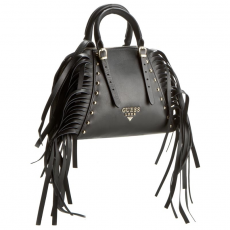 Guess Táska GUESS - Lady Luxe (Fringes) HWLAFR L6477 BLA