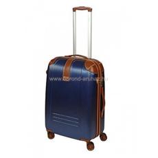 DIELLE kék négykerekű közepes bőrönd 155-M