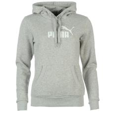 Puma No1 női kapucnis pamut pulóver szürke M