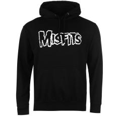 Official Misfits férfi kapucnis cipzáras pulóver mintás M
