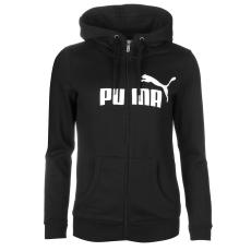 Puma No1 női kapucnis pamut pulóver fekete M