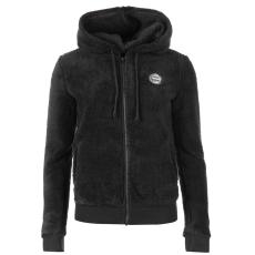 Roxy Andrea női kapucnis cipzáras pulóver sötétszürke L